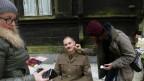 Jakub Koudela as Captain Kappel gets a freshener makeup